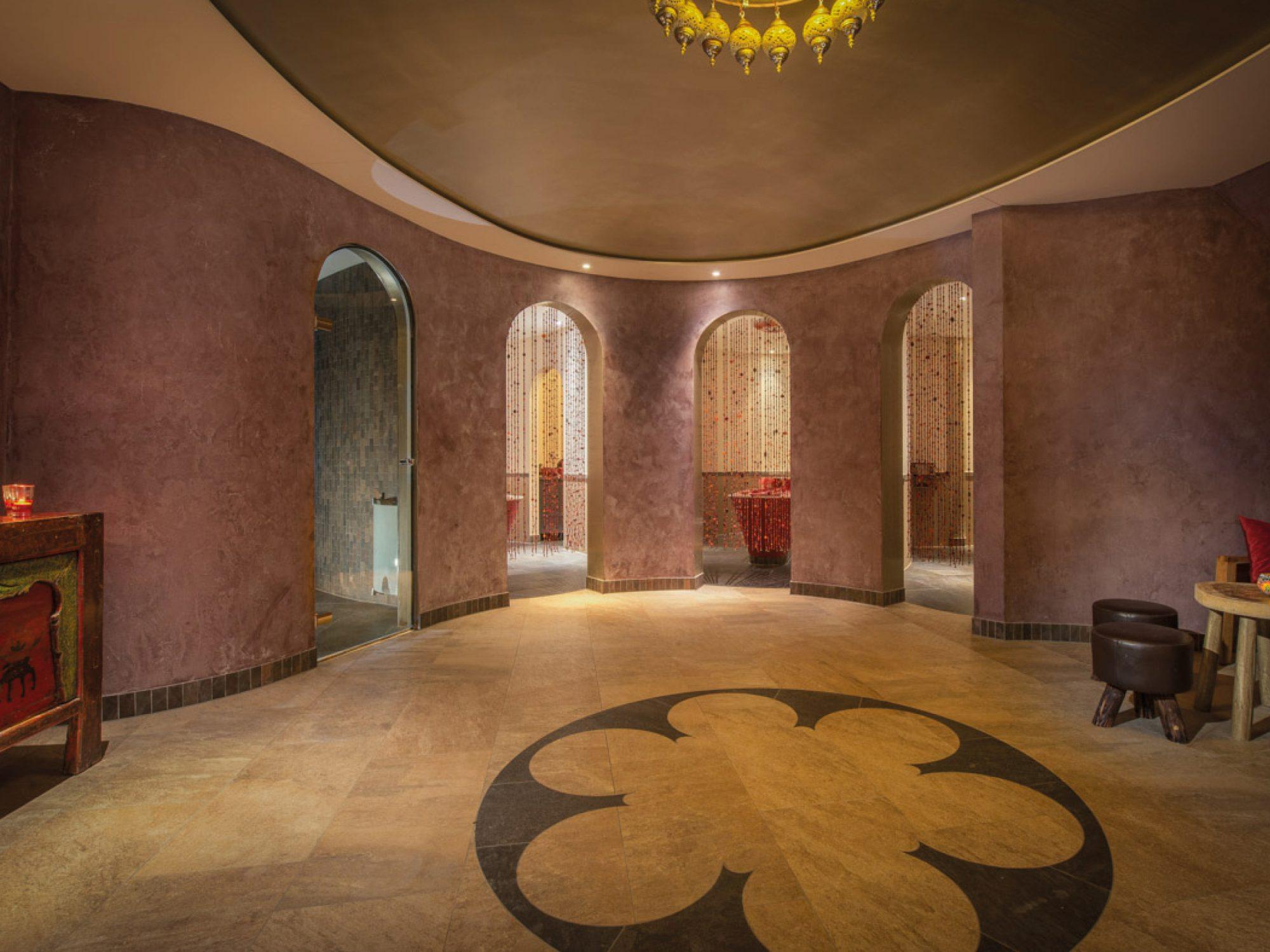 Dit is een heerlijke plek voor een hammam ritueel in de Spa & Wellness van Fort Resort Beemster.