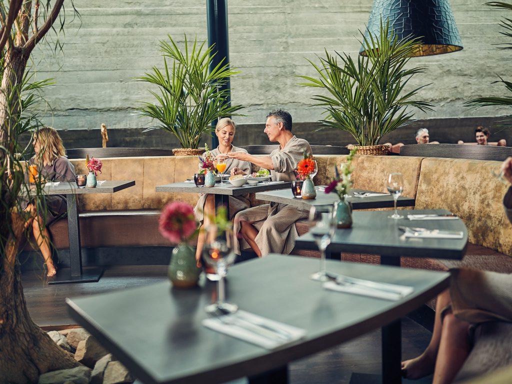 Het wellness restaurant is sfeervol en intiem. Geniet in de wellness van Fort Resort Beemster.