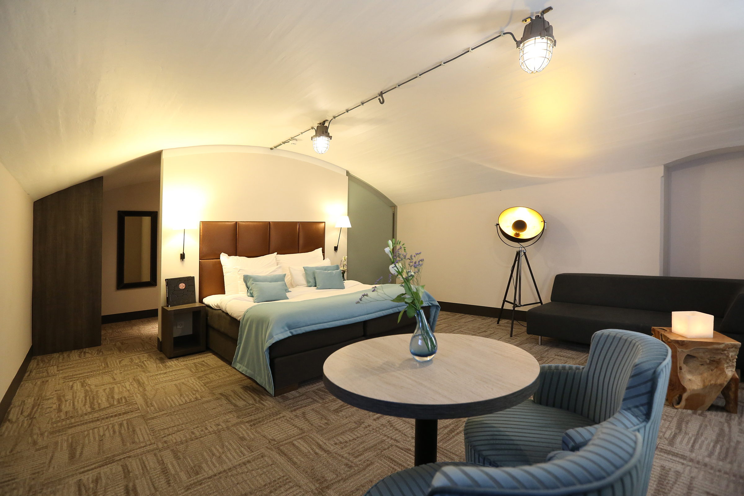 Luxe kamer in het fort - Fort Resort Beemster