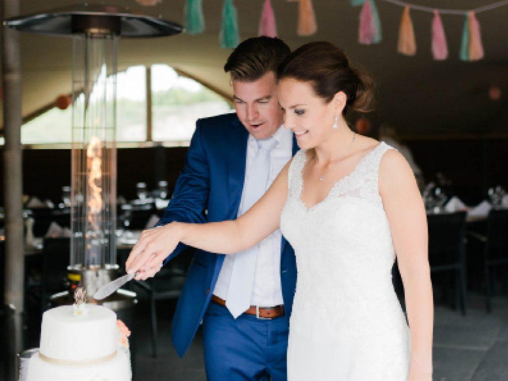 Fort Resort Beemster is officieel trouwlocatie, er kan binnen en buiten getrouwd worden.