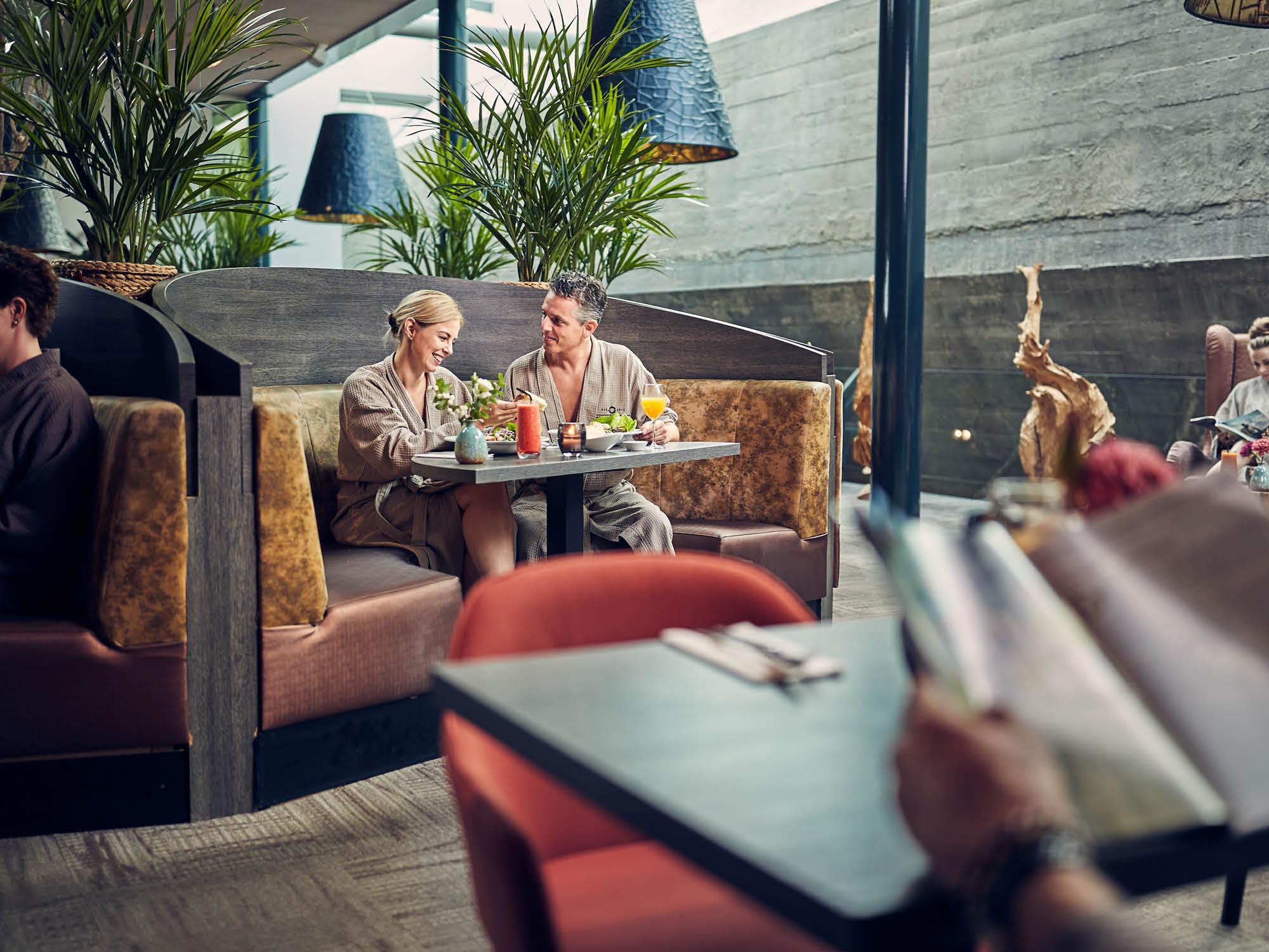 Een faciliteit van de Spa & Wellness van Fort Resort Beemster het wellness restaurant
